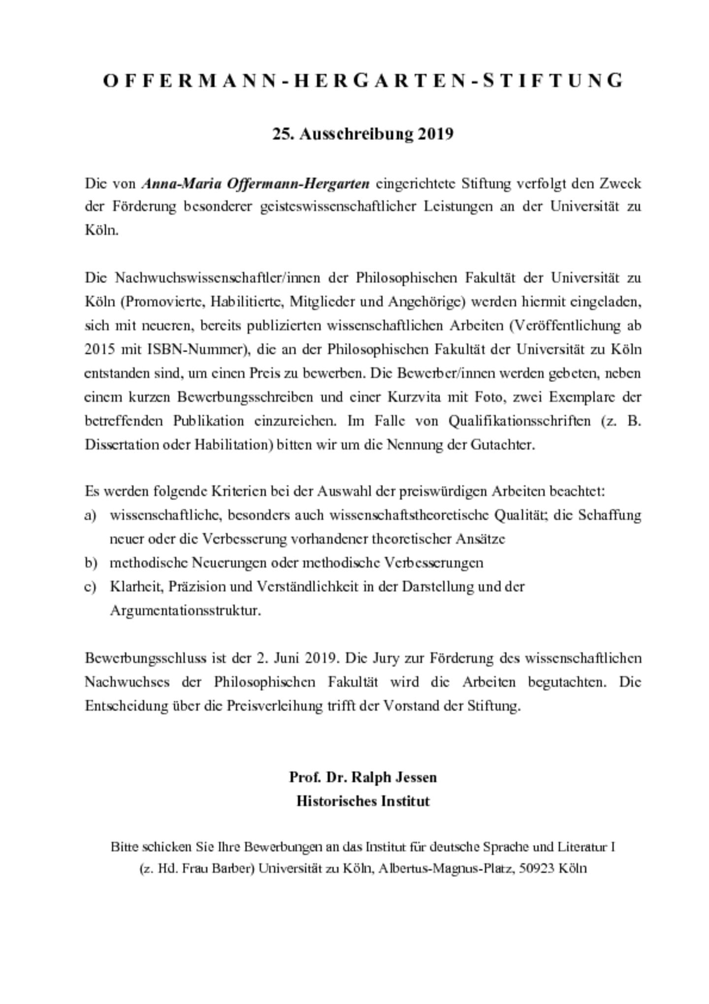 dae1d01ba0efb8 Offermann-Hergarten Prize